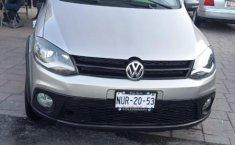 Volkswagen Crossfox 2012 Plata-8