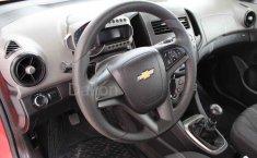 Chevrolet Sonic 2016 Rojo-11