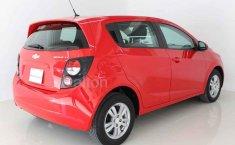 Chevrolet Sonic 2016 Rojo-7
