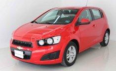 Chevrolet Sonic 2016 Rojo-5