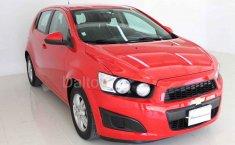 Chevrolet Sonic 2016 Rojo-4