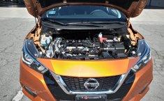 Nissan Versa 2020 Naranja-3