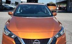 Nissan Versa 2020 Naranja-1