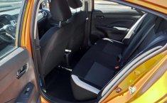 Nissan Versa 2020 Naranja-0