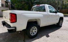 Camioneta pick up chrevolet silverado automática blanca con aire acondicionado, lista para el trabajo-0