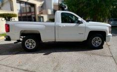 Camioneta pick up chrevolet silverado automática blanca con aire acondicionado, lista para el trabajo-1