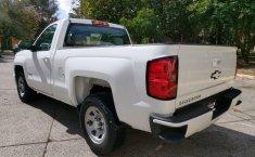 Camioneta pick up chrevolet silverado automática blanca con aire acondicionado, lista para el trabajo-3