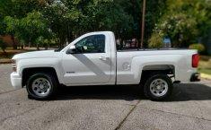 Camioneta pick up chrevolet silverado automática blanca con aire acondicionado, lista para el trabajo-4