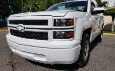 Camioneta pick up chrevolet silverado automática blanca con aire acondicionado, lista para el trabajo-5