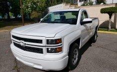 Camioneta pick up chrevolet silverado automática blanca con aire acondicionado, lista para el trabajo-6