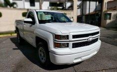 Camioneta pick up chrevolet silverado automática blanca con aire acondicionado, lista para el trabajo-8