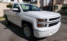 Camioneta pick up chrevolet silverado automática blanca con aire acondicionado, lista para el trabajo-12