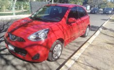 NISSAN March 2018 color rojo .Cuenta con 60 mil KM recorridos.Interiores color Negro.-4