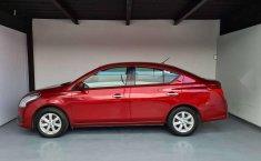 Nissan Versa Sence 2019 rojo-15