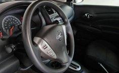 Nissan Versa Sence 2019 rojo-13