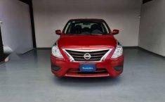 Nissan Versa Sence 2019 rojo-11