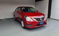 Nissan Versa Sence 2019 rojo-9