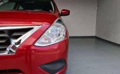 Nissan Versa Sence 2019 rojo-8