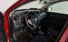 Nissan Versa Sence 2019 rojo-6