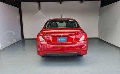 Nissan Versa Sence 2019 rojo-4