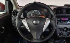 Nissan Versa Sence 2019 rojo-3