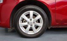 Nissan Versa Sence 2019 rojo-1