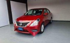 Nissan Versa Sence 2019 rojo-0