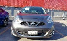 Nissan March 2018 Gris -1
