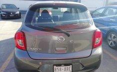 Nissan March 2018 Gris -3