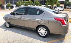 Nissan Versa Sense Aut Factura Origina Unico Dueño-1