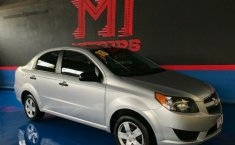 Chevrolet Aveo LS Paq L T/A 2018 Plata $ 145,900-11