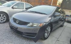 Honda civic EX coupe 2010 gris oxford excelente-2