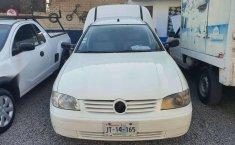 Volkswagen dervy van 2007 blanca muy buena-8