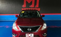 Nissan Versa Exclusive T/A 2018 Rojo $ 198,600-8