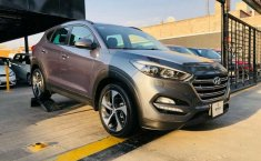 HYUNDAI TUCSON LIMITED TECH GRIS 2017-0