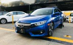 HONDA CIVIC TURBO PLUS AZUL METALICO 2016-2