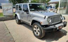 Jeep Wrangler Sahara 2017 Automático 6 Cil. 4x4 Piel 4 Puertas, Garantía, Crédito Sin penalizaciónes-1
