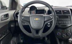 Auto Chevrolet Sonic 2016 de único dueño en buen estado-8