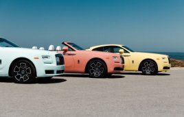 Rolls-Royce presentó la 'Pebble Beach Collection' 2019