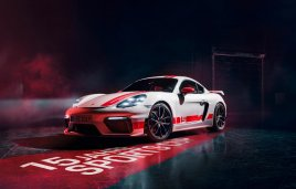 El Porsche 718 Cayman GT4 estrena edición limitada