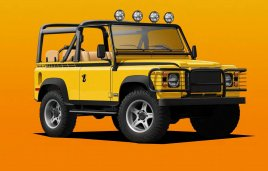 Twisted NAS-E 4x4, una Land Rover Defender 100% eléctrica