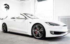 Ares transforma un Tesla Model S en un roadster