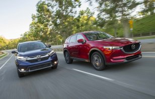 Comparativa: Honda CR-V 2018, Nissan X-Trail 2018 vs. Mazda CX-5 2018