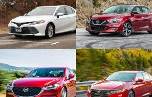 Comparativa: Honda Accord vs Toyota Camry, Mazda 6 y Nissan Altima