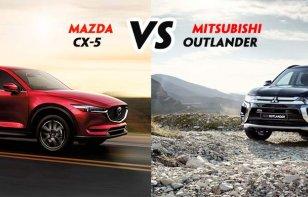 Comparativa: Mazda CX-5 2018 vs. Mitsubishi Outlander 2018