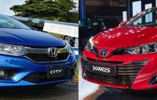 Comparativa: Honda City vs. Toyota Yaris sedán