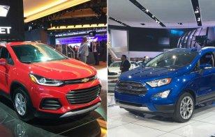 Comparativa: Ford EcoSport 2018 vs. Chevrolet Trax 2018