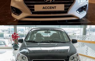 Comparativa: Chevrolet Aveo 2018 vs. Hyundai Accent 2018