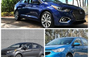Comparativa: Hyundai Accent 2018 vs. Chevrolet Aveo 2018 y Ford Fiesta 2018