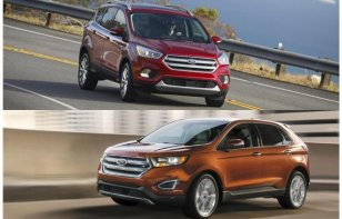 Comparativa: Ford Escape 2018 vs. Ford Edge 2018